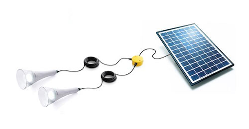 Sundaya T-lite 2 light solar kit