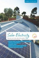 Solar Electricity booklet COVER