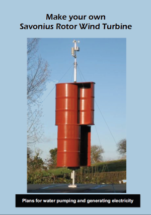 Savonius Rotor Wind Turbine Booklet | ATA Webshop