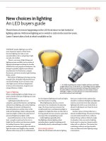 LED Buyers Guide