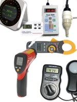 Energy meters & test gear